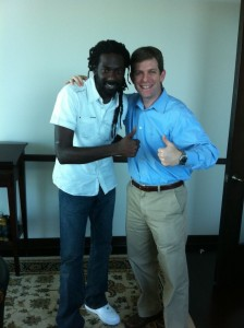 David Markus and Buju prepare for trial